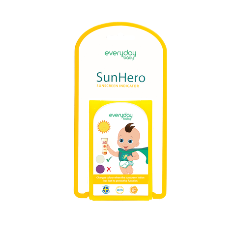 SunHero Sunscreen Indicator