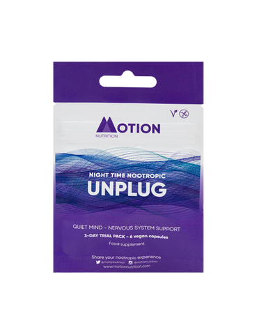 Motion Nutrition Unplug: Ease Your Mind - 3 Day Trial Pack