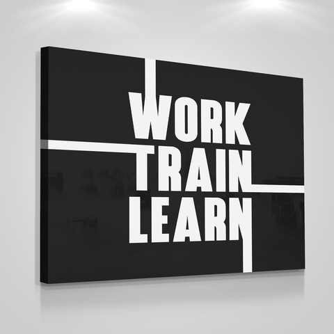 Work Train Learn - Iceberg Of Success