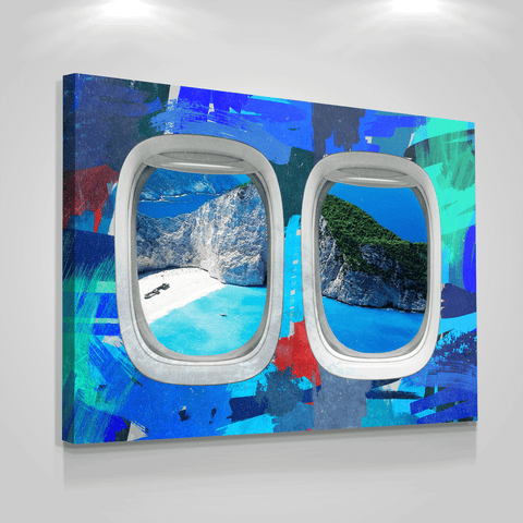 Airplane Window Art - Iceberg Of Success