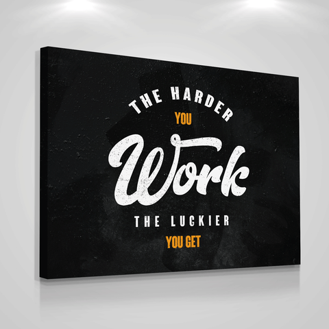 Harder Work - Iceberg Of Success