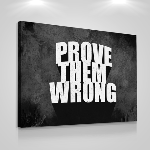 Prove Them Wrong - Iceberg Of Success