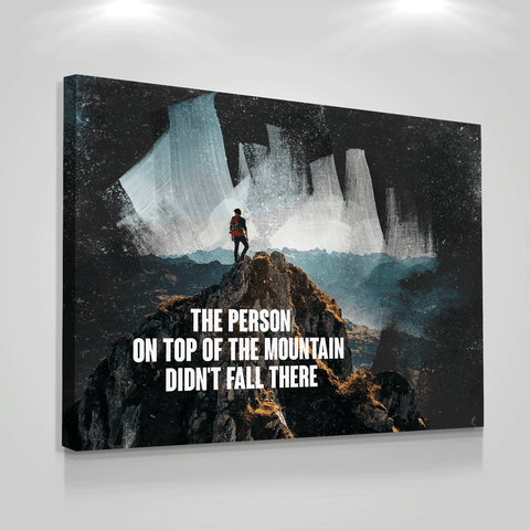 On Top of The Mountain - Iceberg Of Success
