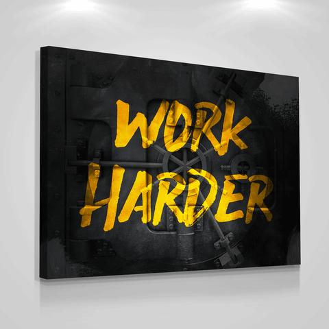 Work Harder - Iceberg Of Success