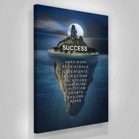 Island Midnight Success - Iceberg Of Success