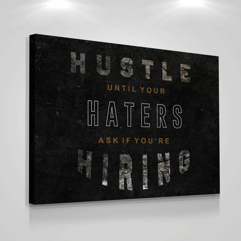 Hustle Haters Hiring - Iceberg Of Success