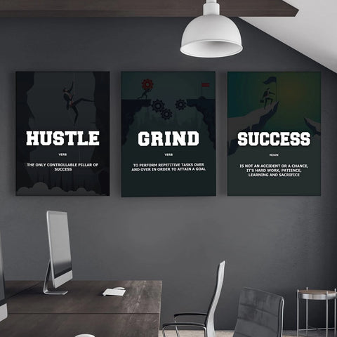 3x Entrepreneur Art Set - Iceberg Of Success