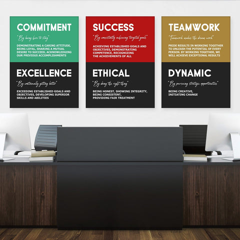 Company Core Values Bundle