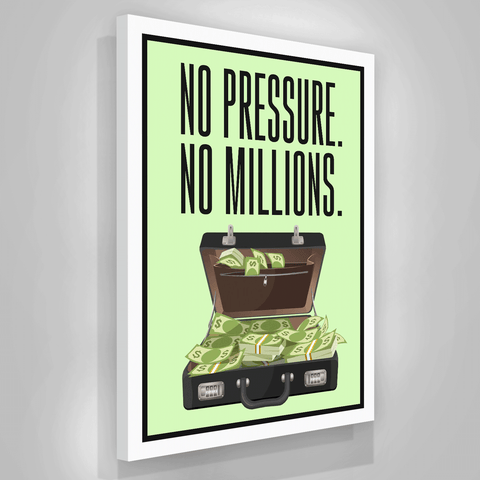 No Pressure No Millions - Iceberg Of Success