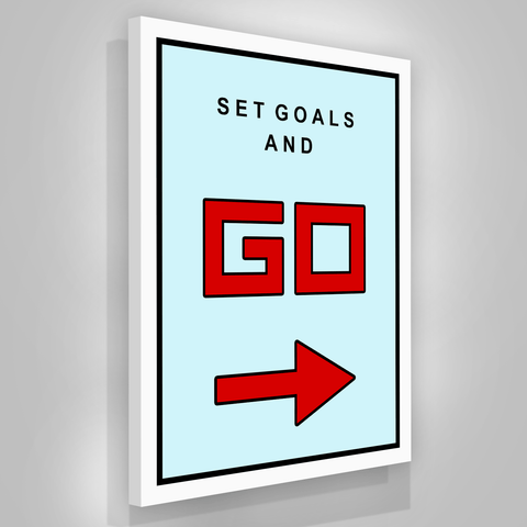 Set Goals And Go - Iceberg Of Success