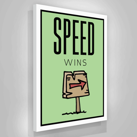 Speed Wins - Iceberg Of Success