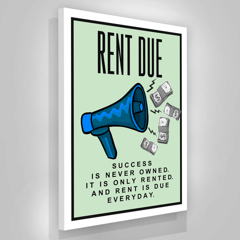 Rent Due - Iceberg Of Success