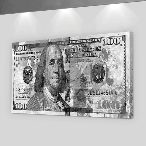100 Dollars Banknote - Iceberg Of Success
