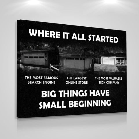 Big Things Have Small Beginning - Iceberg Of Success