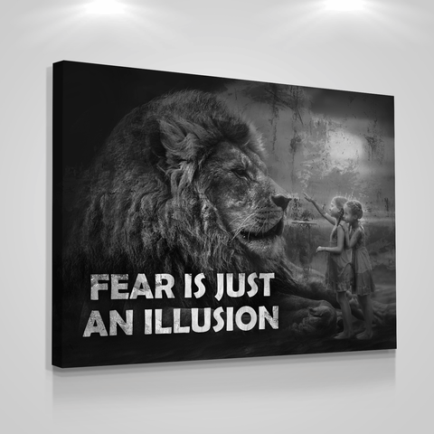Fear Is Just An Illusion - Iceberg Of Success