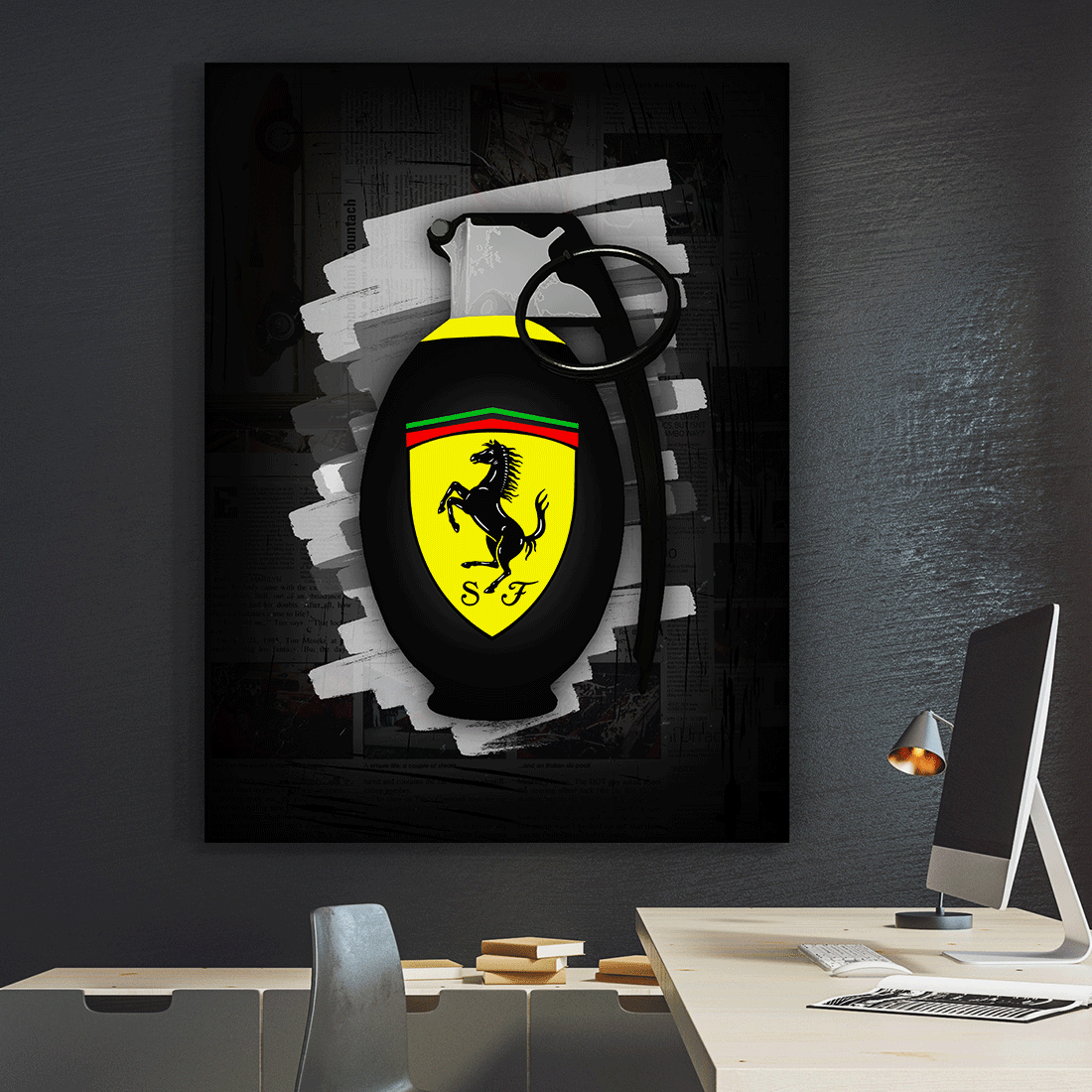 decor and design ferrari decor and design Ferrari Grenade - Iceberg Of Success