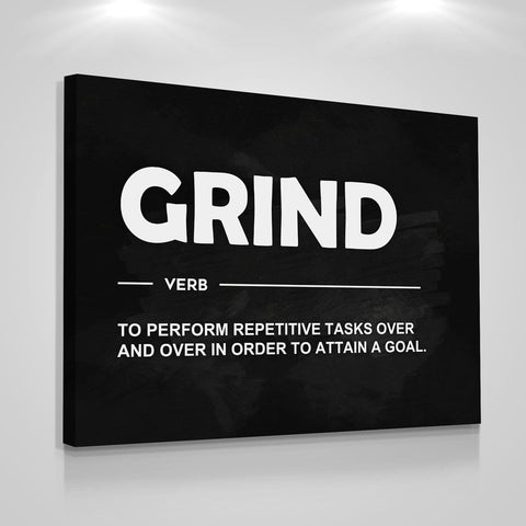 Grind Definition - Iceberg Of Success