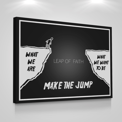Leap Of Faith - Iceberg Of Success