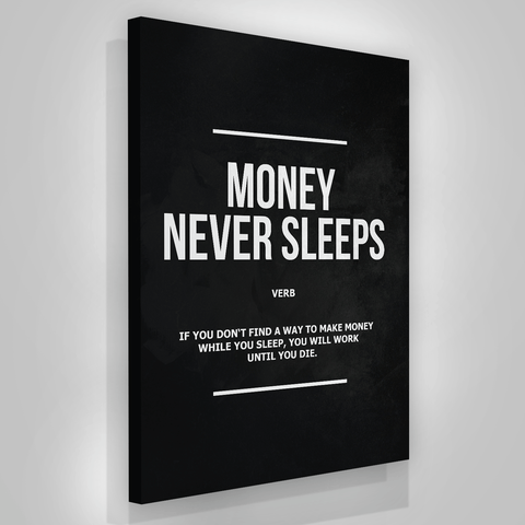 Money Never Sleeps - Iceberg Of Success