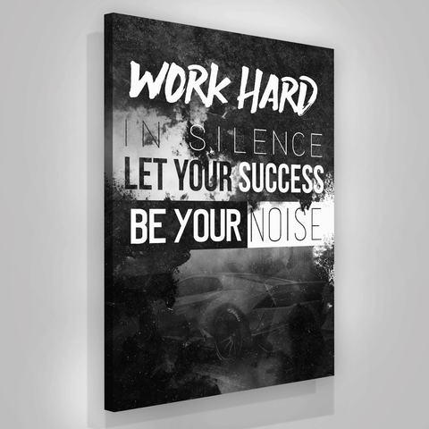 Work Hard In Silence - Iceberg Of Success