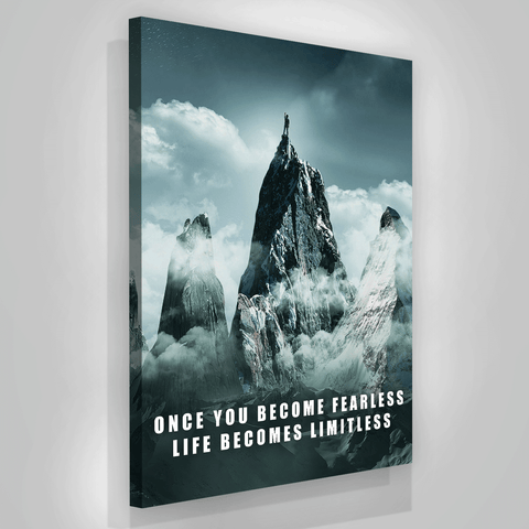 Once You Become Fearless - Iceberg Of Success