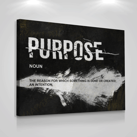 Purpose Noun - Iceberg Of Success