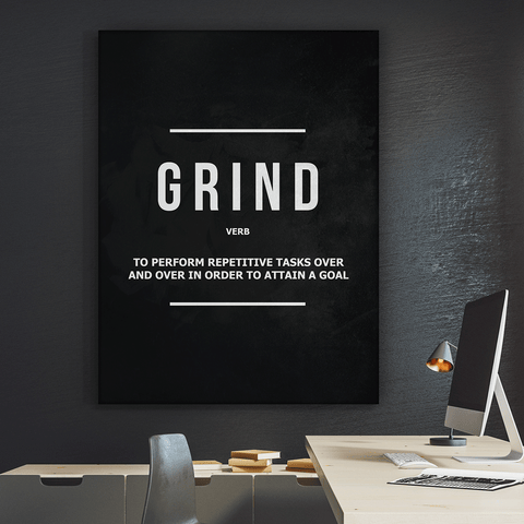 Grind Verb - Iceberg Of Success