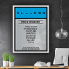 Success Entry Card - Iceberg Of Success