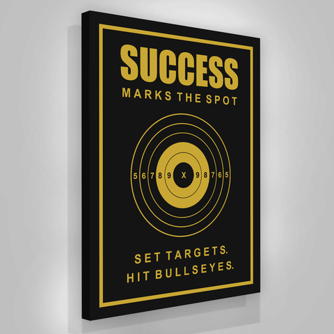 Success Target Bullseyes - Iceberg Of Success