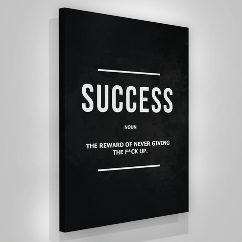 Success Noun - Iceberg Of Success