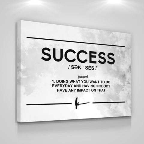 Success Philosophy - Iceberg Of Success