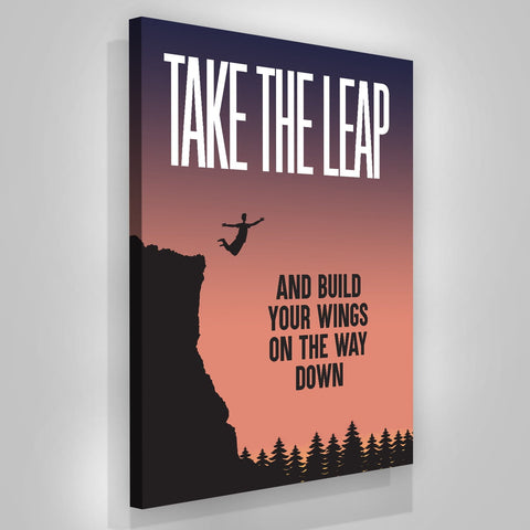 Take The Leap - Iceberg Of Success