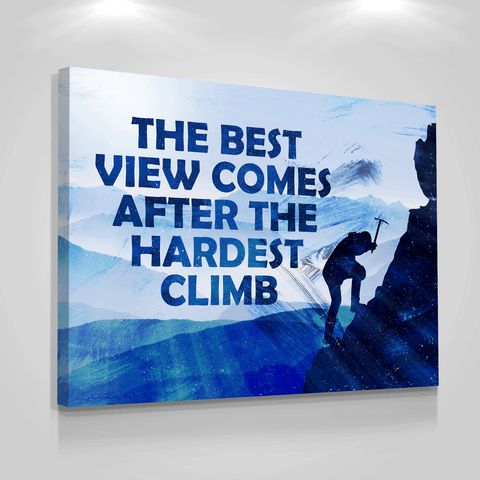 The Hardest Climb - Iceberg Of Success