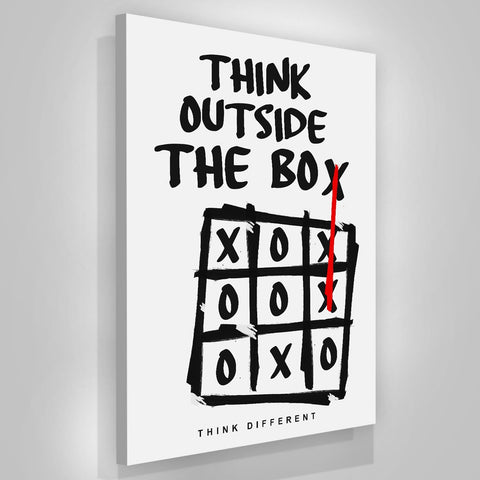 Think Outside The Box - Iceberg Of Success