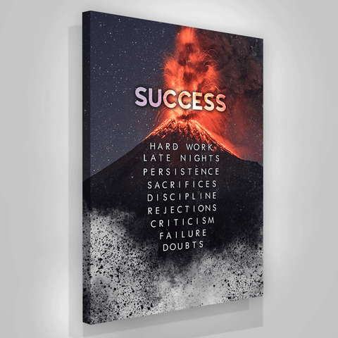Volcano Success Value - Iceberg Of Success