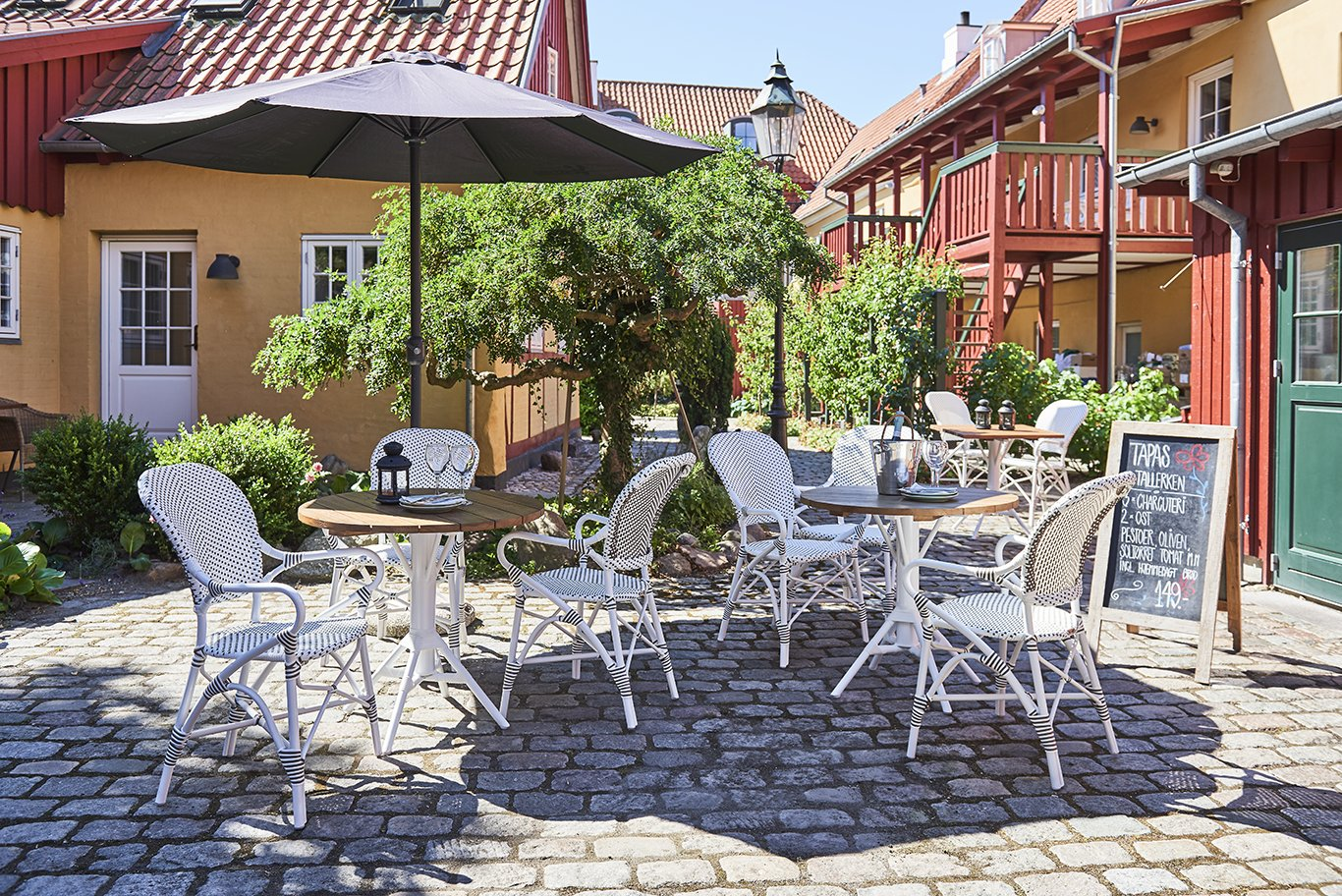 French bistro chairs for outdoor use - Alu Affaire