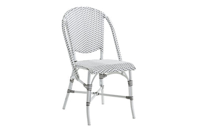 Sofie Alu Side Chair | White