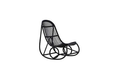 Nanny Rocking Chair | Matt Black