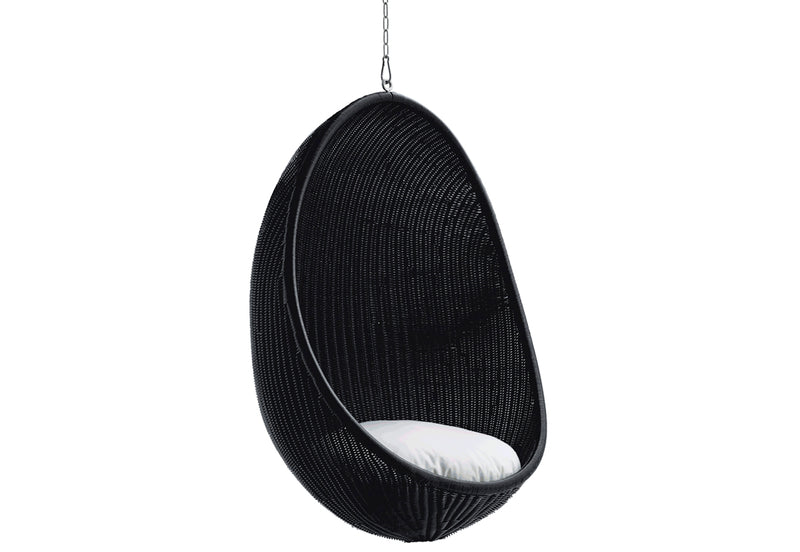 Hanging Egg Chair Exterior | Matt Black