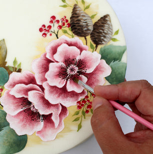 Workshop | Cake International 2019 | Autumn Hedgerow - Painting with Cocoa Butter with Emily Hankins