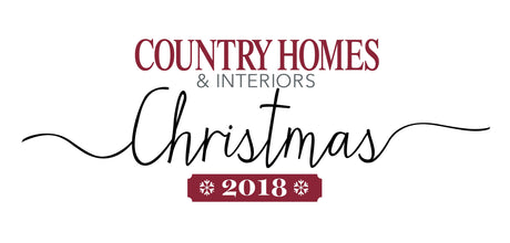 Country Homes & Interiors Christmas, Penshurst : Autumn 2018