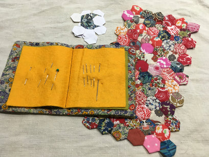 Workshop | Creative Craft Show : Manchester - Spring 2019 | ENGLISH PAPER PIECING WITH CAROLANN J ALLAN