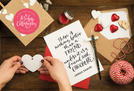 Workshop | Creative Craft Show : Manchester - Spring 2020 | Modern Pointed Nib Calligraphy Made Easy with Maisie Minett from The Modern Calligraphy Company - Session 2