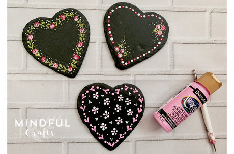 Workshop | The Creative Craft Show/ Sewing for Pleasure/ Fashion & Embroidery - Spring 2020 | Folk It! Dotty Painting on Slate Coasters (Thurs & Sat 12pm)