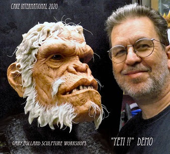 Workshop | Cake International 2021 | The Legendary Yeti with Gary Pollard
