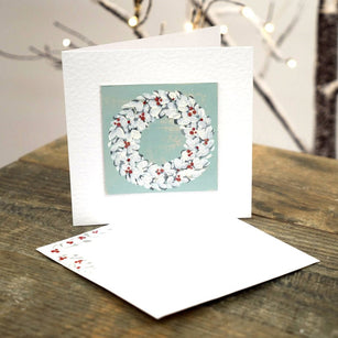 Workshop | The Creative Craft Show (featuring Art Materials Live)/ Simply Christmas - Autumn 2019 | Christmas Wreath Card with Helen Brewer