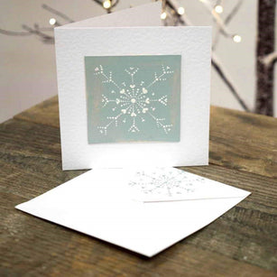 Workshop | The Creative Craft Show (featuring Art Materials Live)/ Simply Christmas - Autumn 2019 | Snowflake Card with Helen Brewer