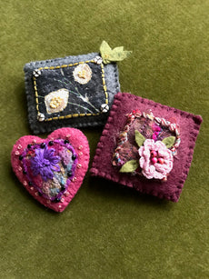 Workshop | Creative Craft Show : London Spring 2019 | BEAUTIFUL HAND-STITCHED BROOCH with Helen McKenna