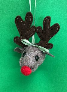Workshop | Creative Craft Show/Crafts for Christmas: Glasgow - Autumn 2019 |  STITCH A CUTE CHRISTMAS REINDEER DECORATION