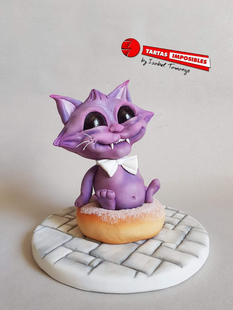 Workshop | Cake International 2018: NEC - Autumn 2018 | Isabel Tamargo - Mr Docat - Using Modelling Chocolate (MCV)